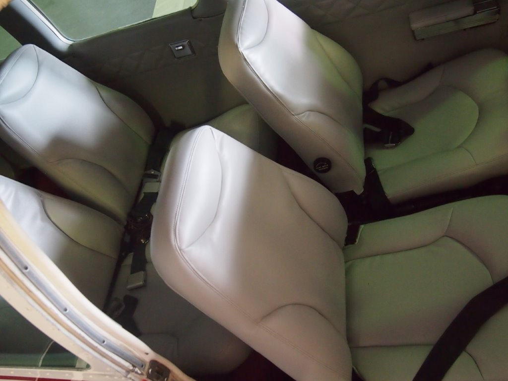 all four seats ready to go with new foams and covers