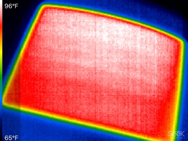INFRARED PHOTO FOR WINDSHIELD HEAT HI