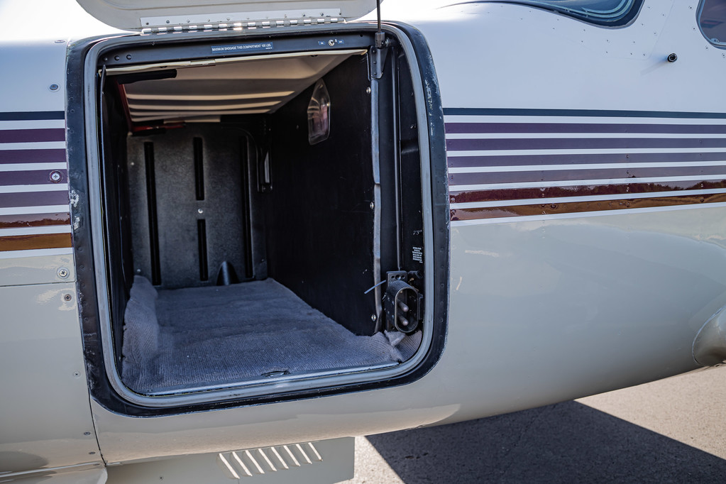 Forward Baggage Compartment