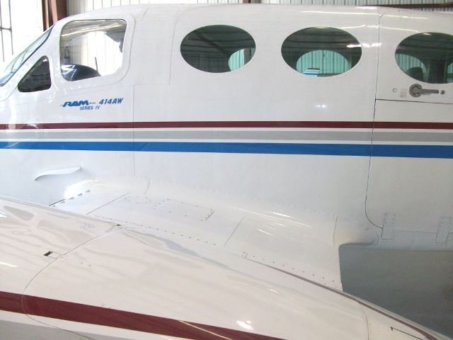 Inboard photo of left top of wing and nacelle