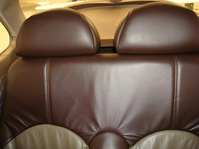 Rear seating folds and reclines too!