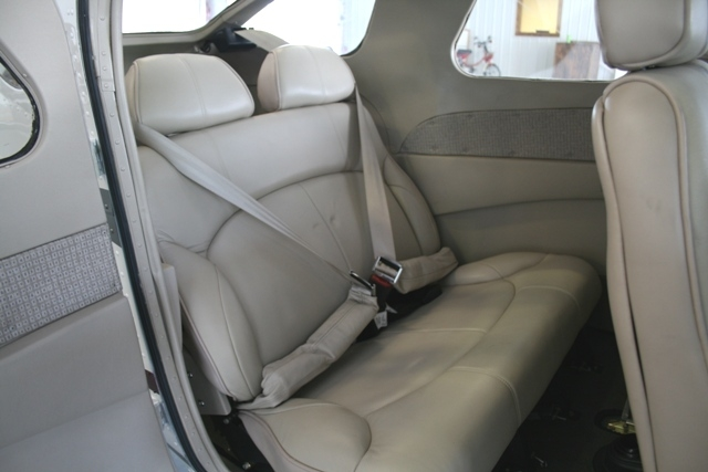 All six seats feature AmSafe restraints.