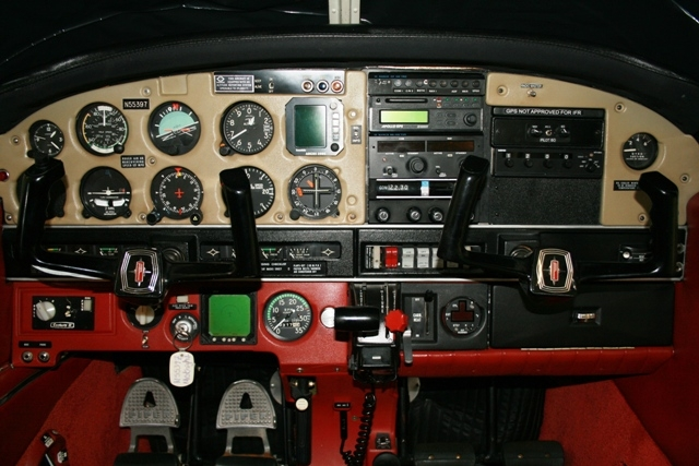 Well installed panel reflects near perfect finish work housing a very well selected avionics package.